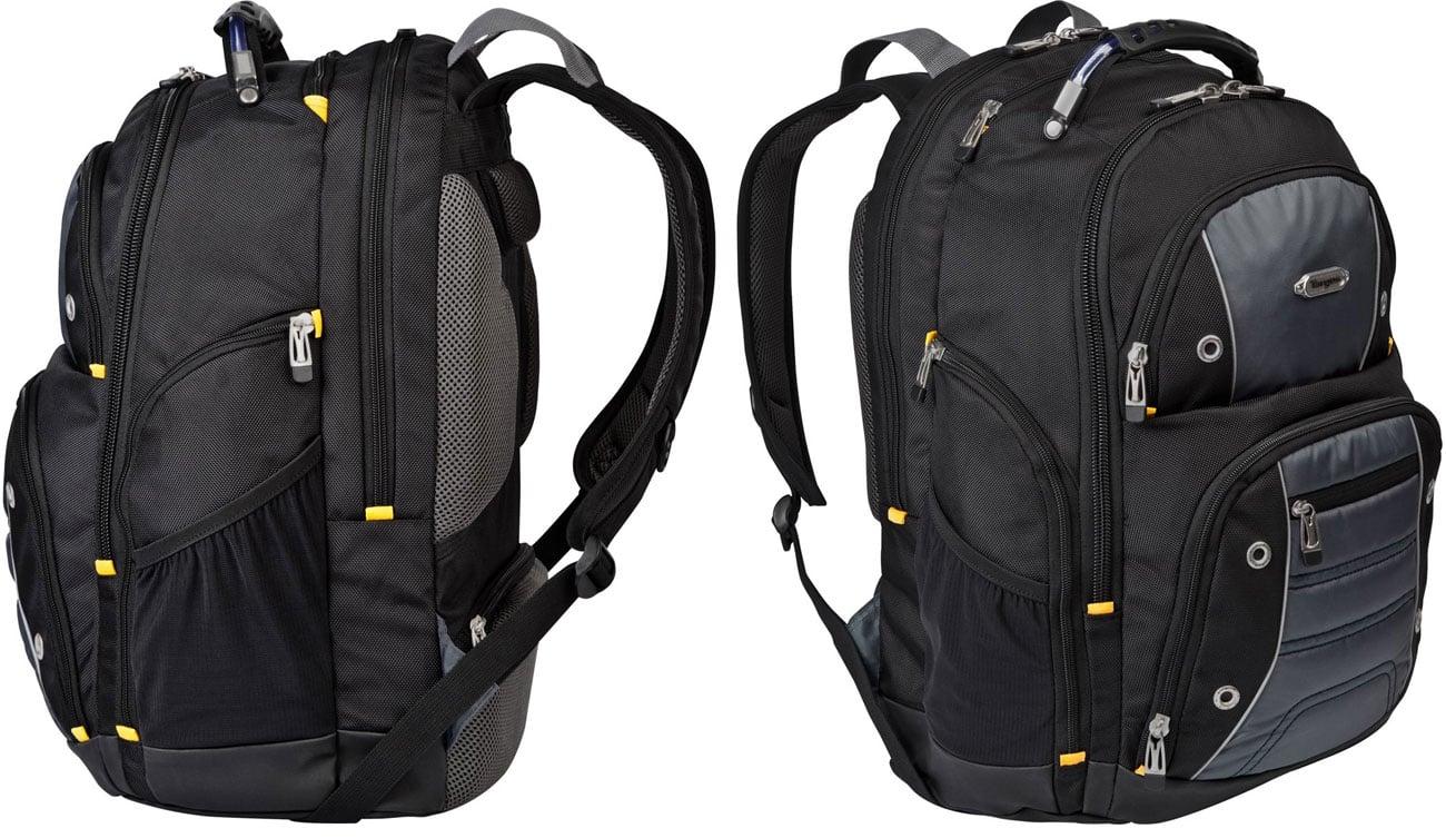 Czarny plecak szkolny Targus Drifter TSB238EU