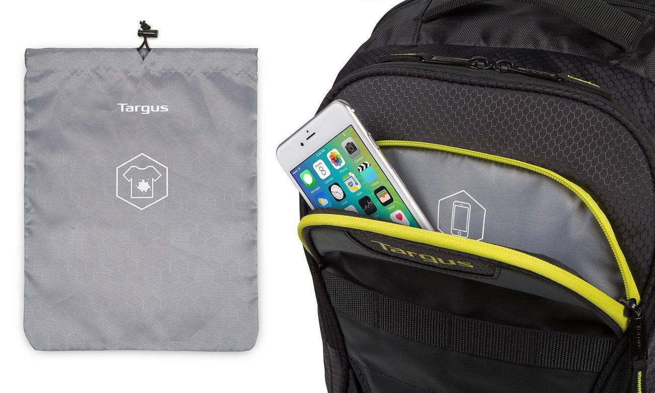 Targus Work + Play Fitness ochrona laptopa i sprzętu elektronicznego