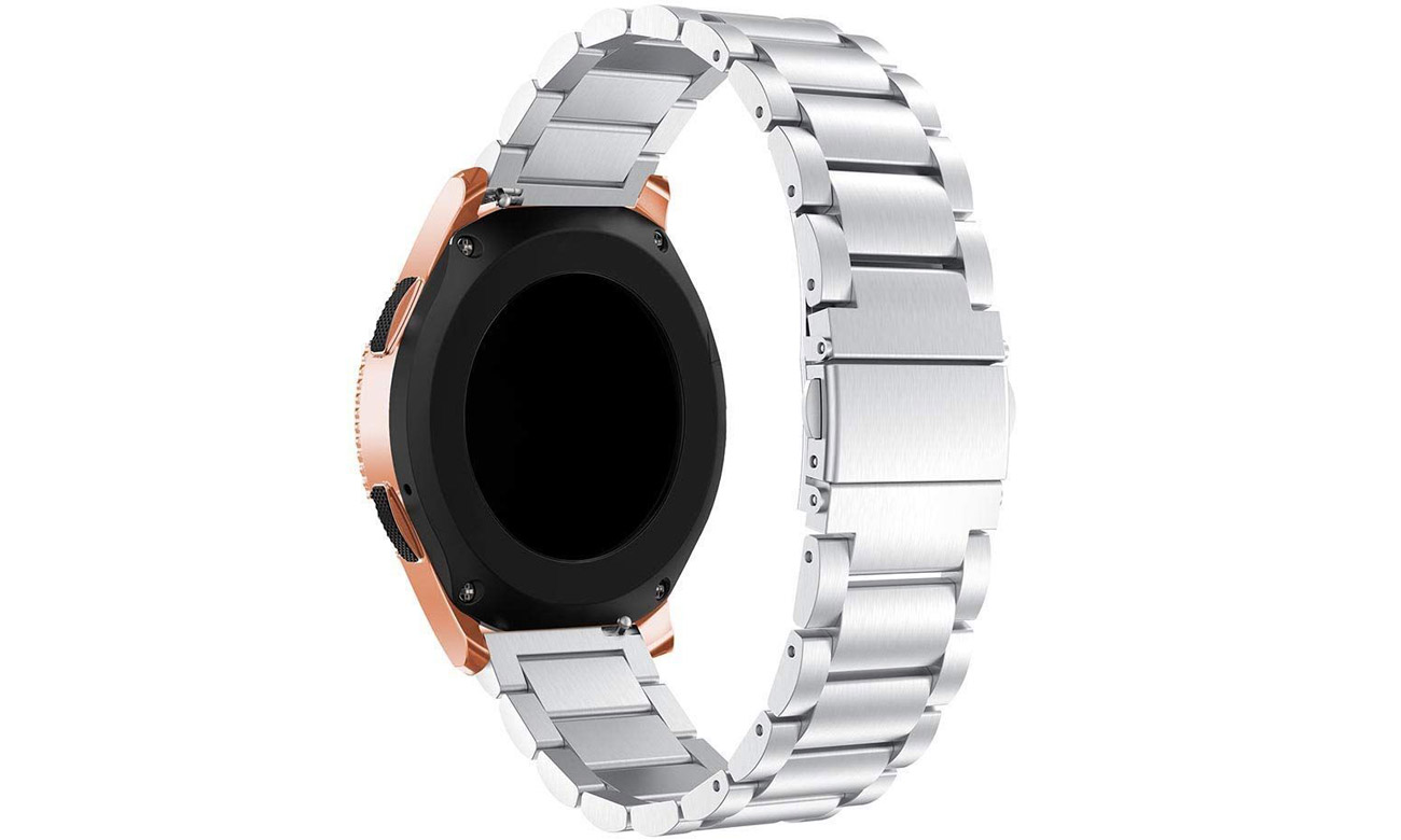 Mocne zapięcie zapewnia bezpieczeństwo dla zegarka
