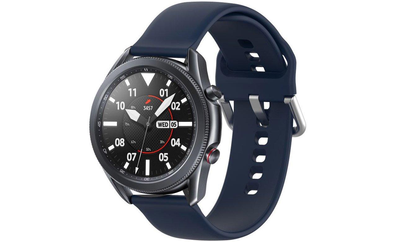 Gumowy pasek Tech-Protect Iconband Granatowy do smartwatchy
