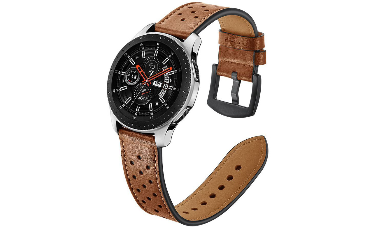 Pasek skórzany Brązowy Tech-Protect Leather