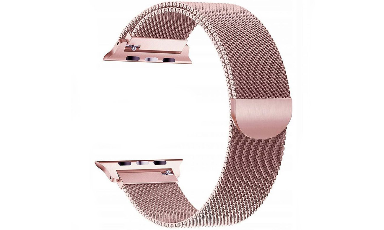Bransoleta Tech-Protect Milaneseband Rose Gold do Apple Watch 38-40mm