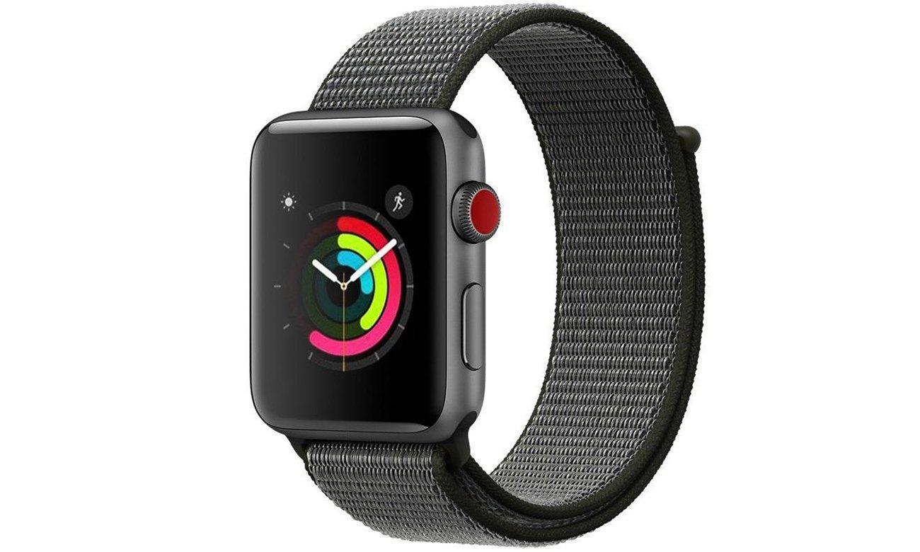 Pasek Tech-Protect Nylon Dark Olive do Apple Watch 42-44mm