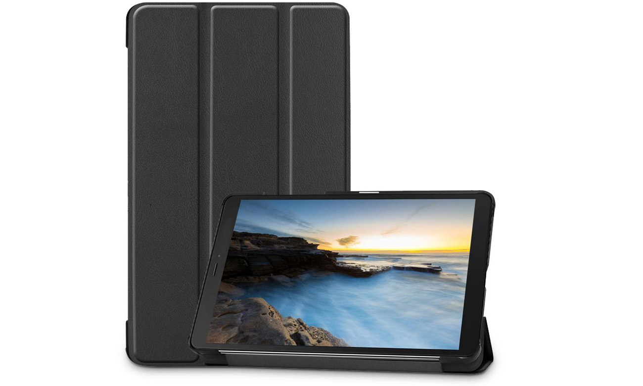 Etui Tech-Protect SmartCase do Galaxy Tab A 8.0 Czarne