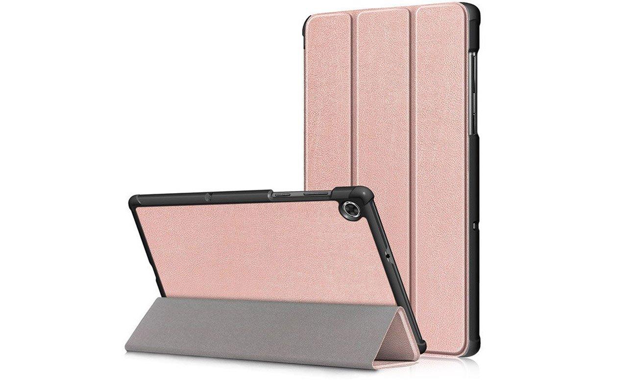 Etui Tech-Protect SmartCase do Lenovo Tab M10 (2. gen) Różowe złoto