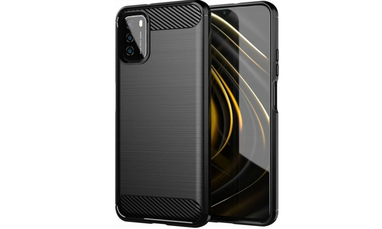 Tech-Protect TPUcarbon do Xiaomi Redmi 9T