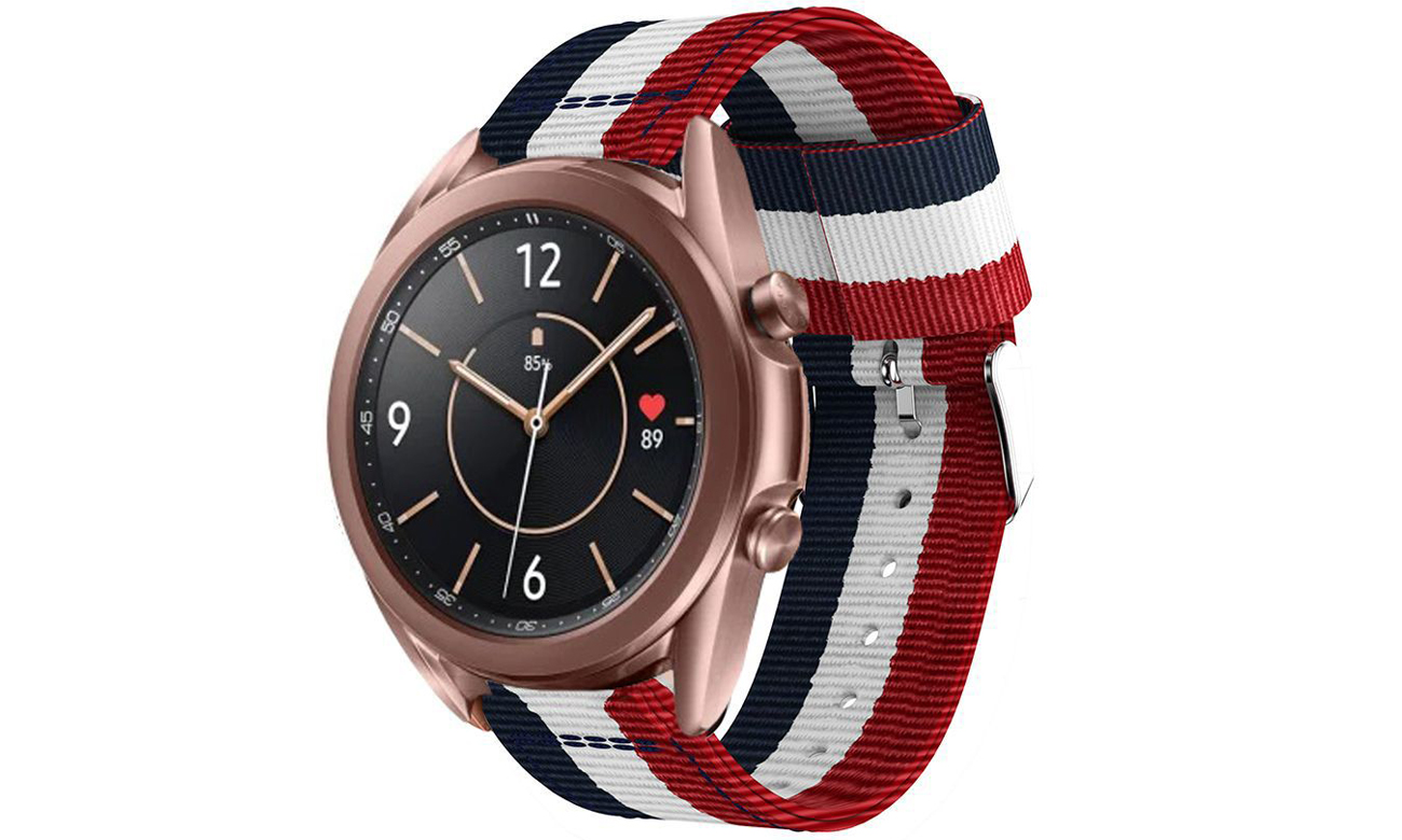 Pasek Tech-Protect Welling Navy/Red do smartwatchy