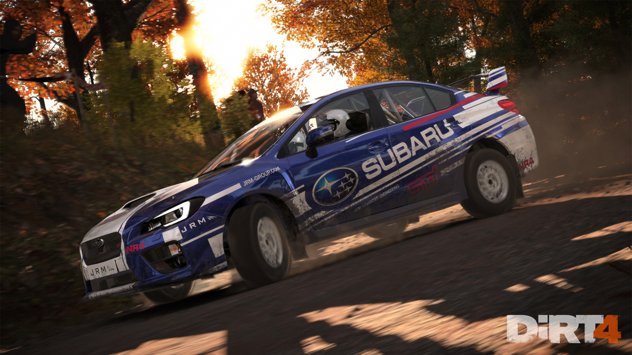 Gra DiRT 4 na Xbox One