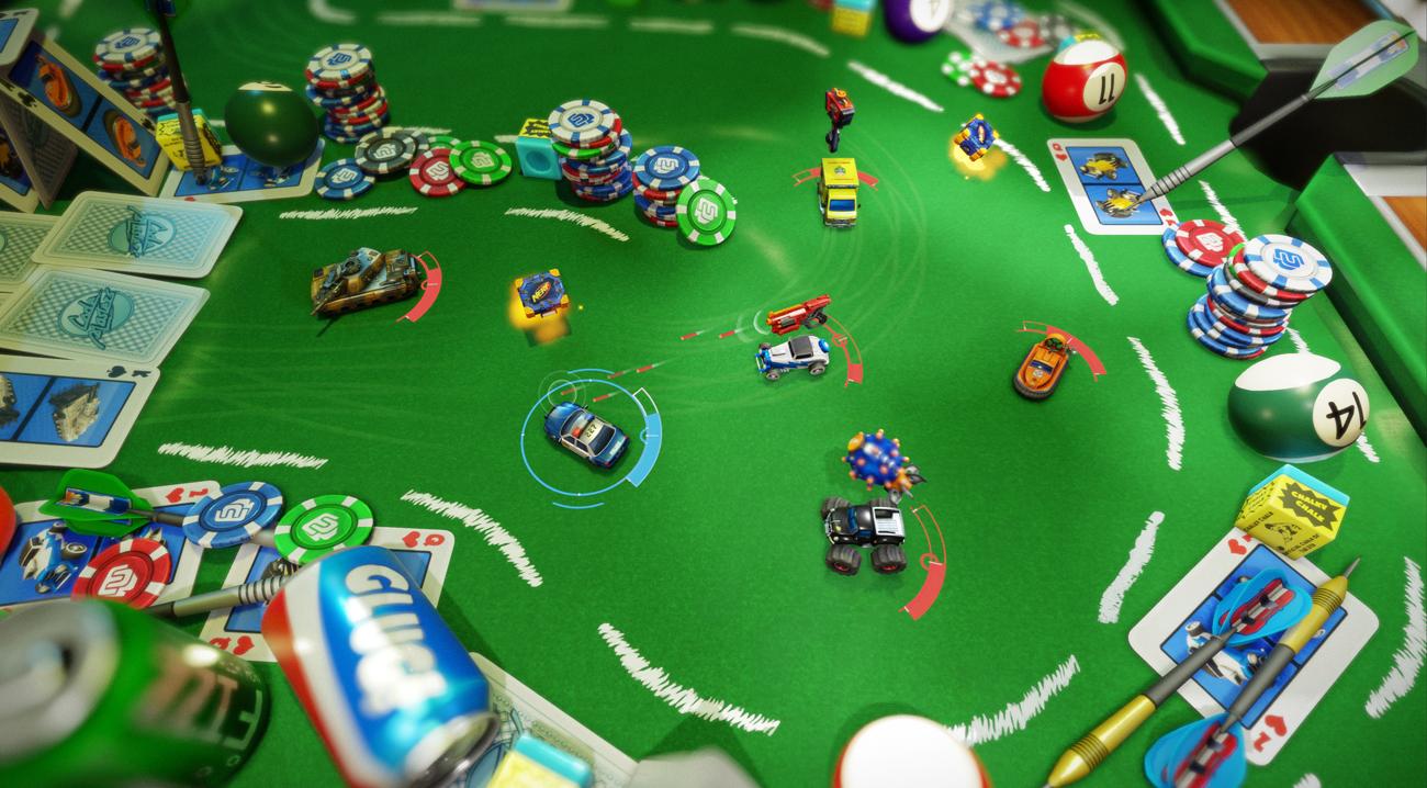 Najważniejsze cechy Micro Machines: World Series