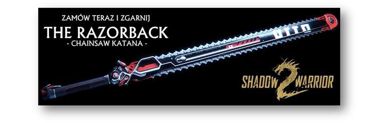The Razorback - Chainsaw Katana