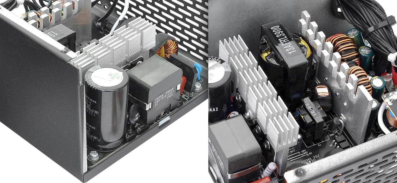 Thermaltake Smart BX1 550W Podzespoły