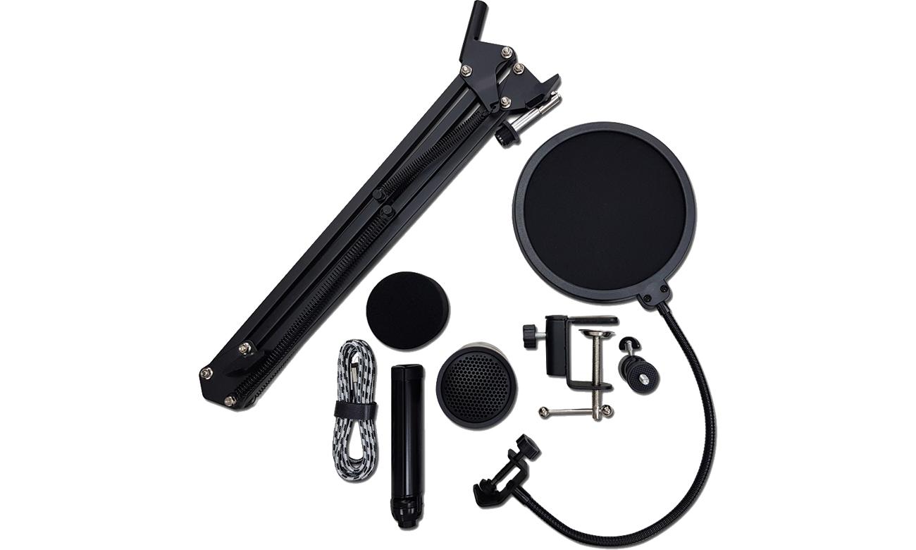 Zawartość zestawu Thronmax M20 Streaming Kit
