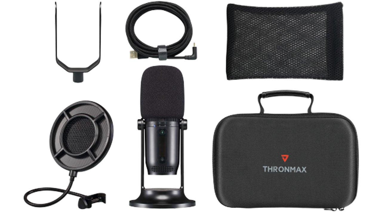 Zawartość zestawu Thronmax Mdrill One Pro Studio Kit