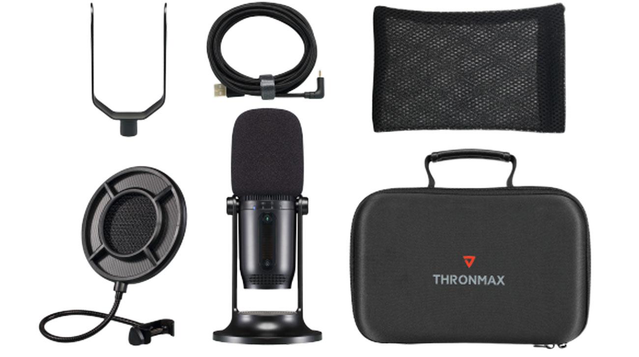Zawartość zestawu Thronmax Mdrill One Studio Kit