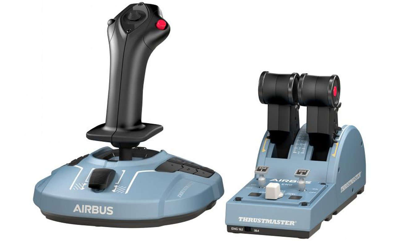 Zestaw Thrustmaster TCA Officer Pack Airbus Edition