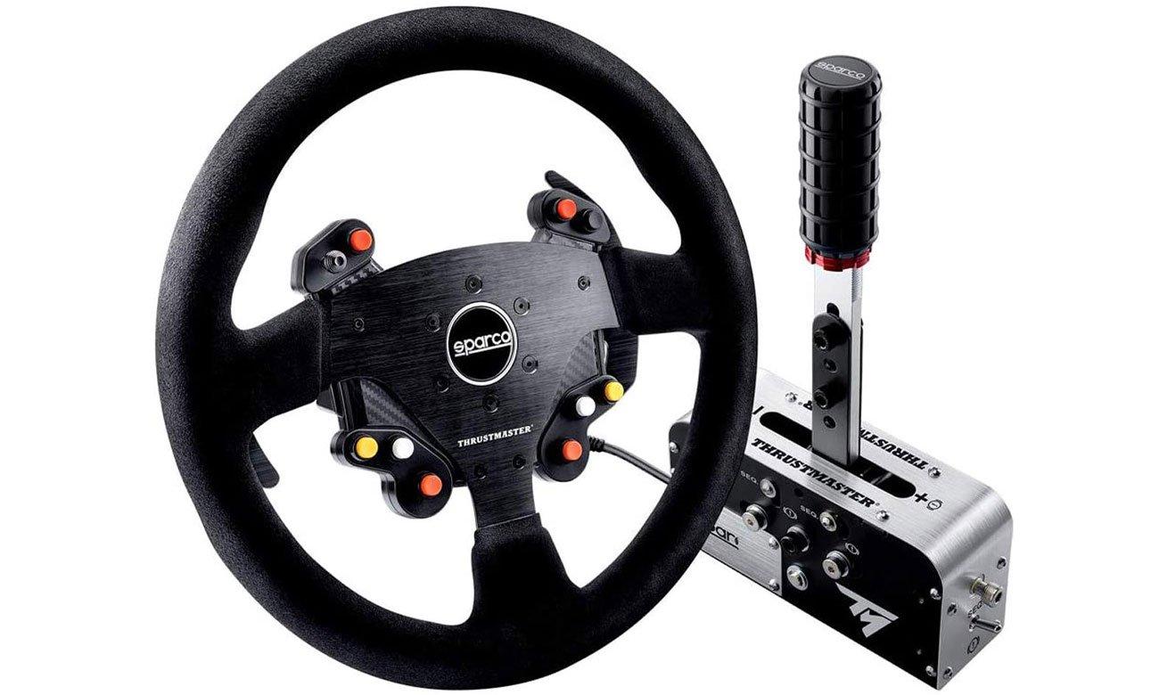 Zestaw Thrustmaster Rally Race Gear Sparco Mod