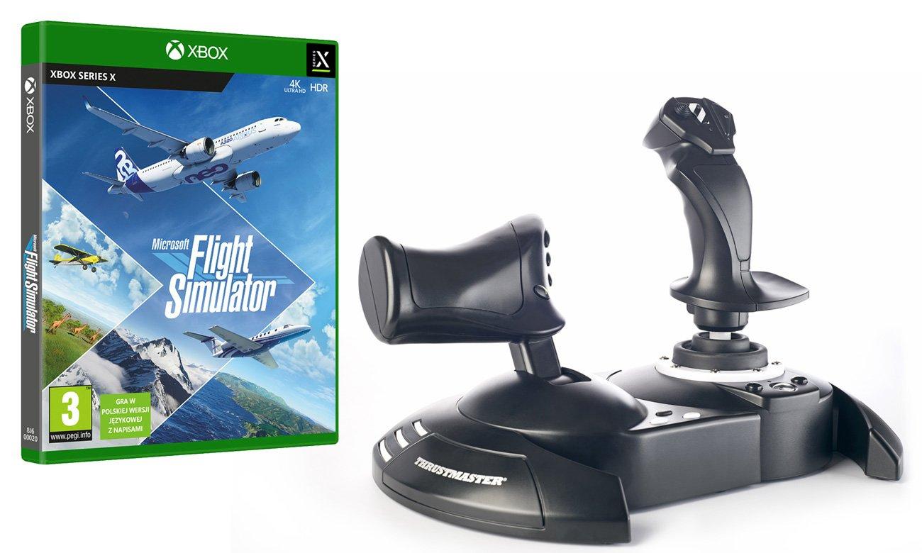 Zestaw Thrustmaster T.Flight Hotas One + Microsoft Flight Simulator
