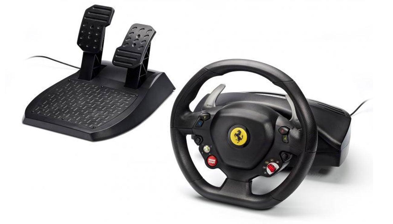 Kierownica z oficjalną licencją Ferrari