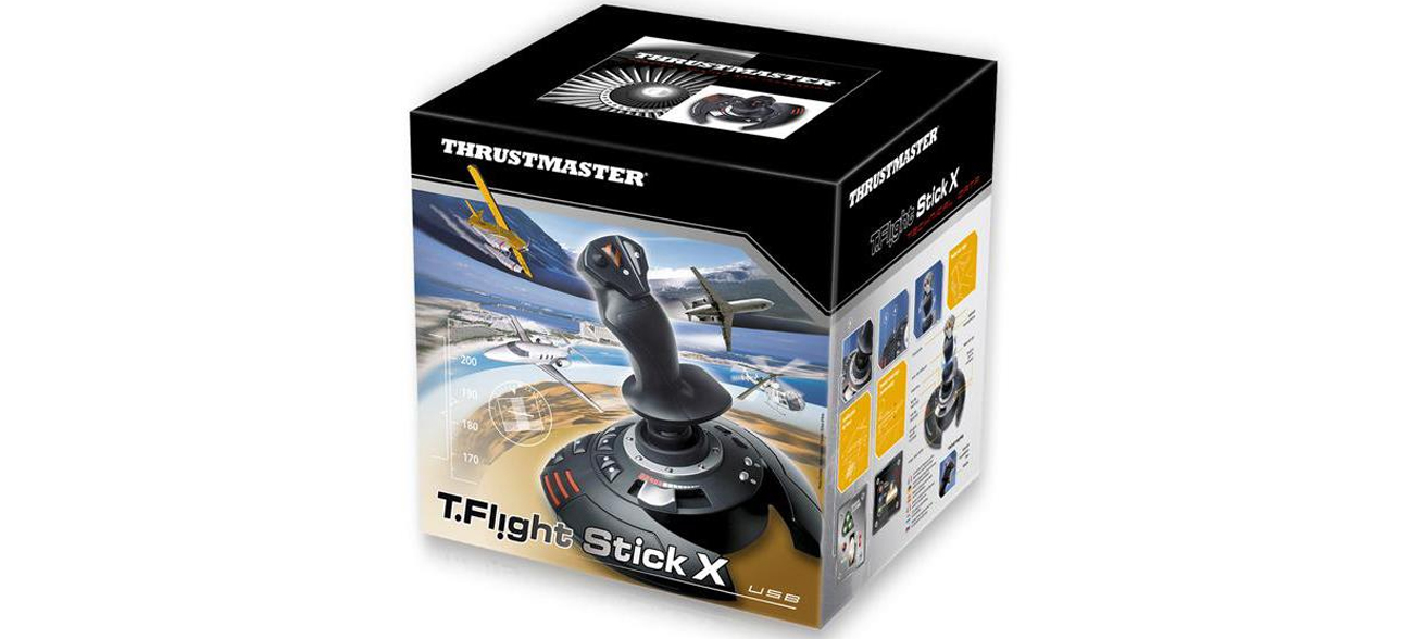 Thrustmaster T.Flight Stick X - przepustnica