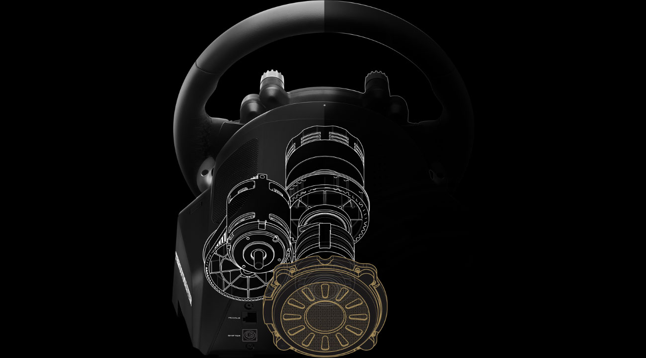Thrustmaster T-GT + GTSport Technologie