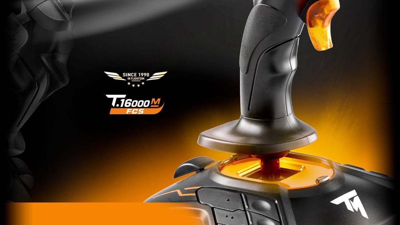 Thrustmaster T.16000M FCS Funkcjonalność