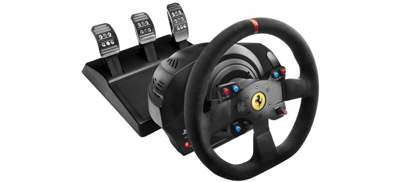Thrustmaster T300 Ferrari Integral RW Alcantara Edition Technologia H.E.A.R.T