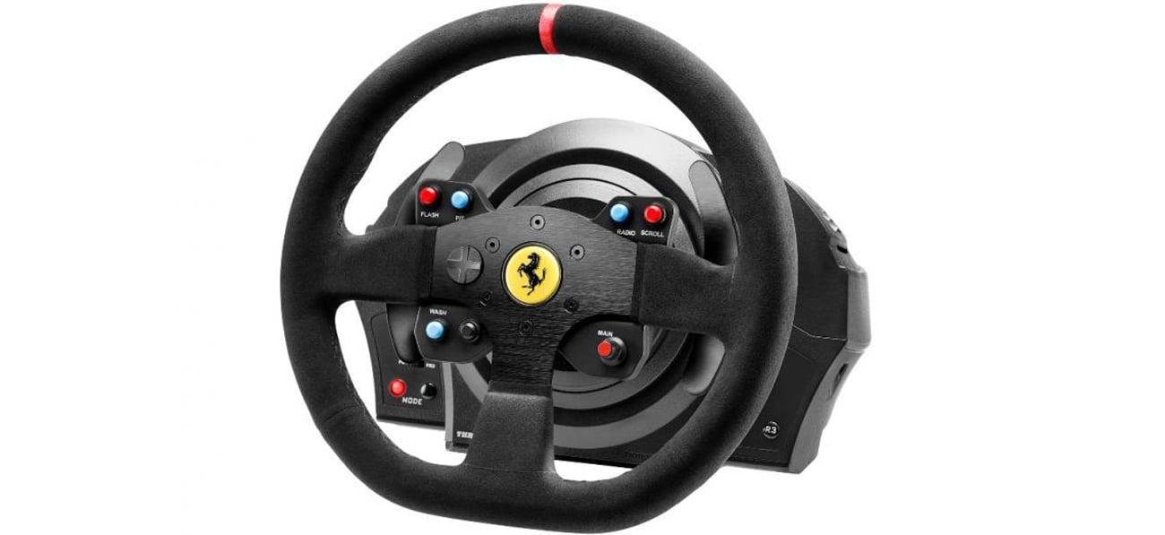 Thrustmaster T300 Ferrari Integral RW Alcantara Edition Widok Z Przodu
