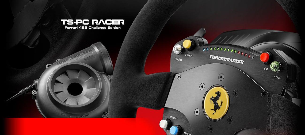 Thrustmaster TS-PC RACER Ferrari 488 Challenge Edition licencja