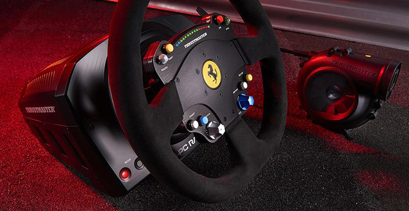 Thrustmaster TS-PC RACER Ferrari 488 Challenge Edition H.E.A.R.T