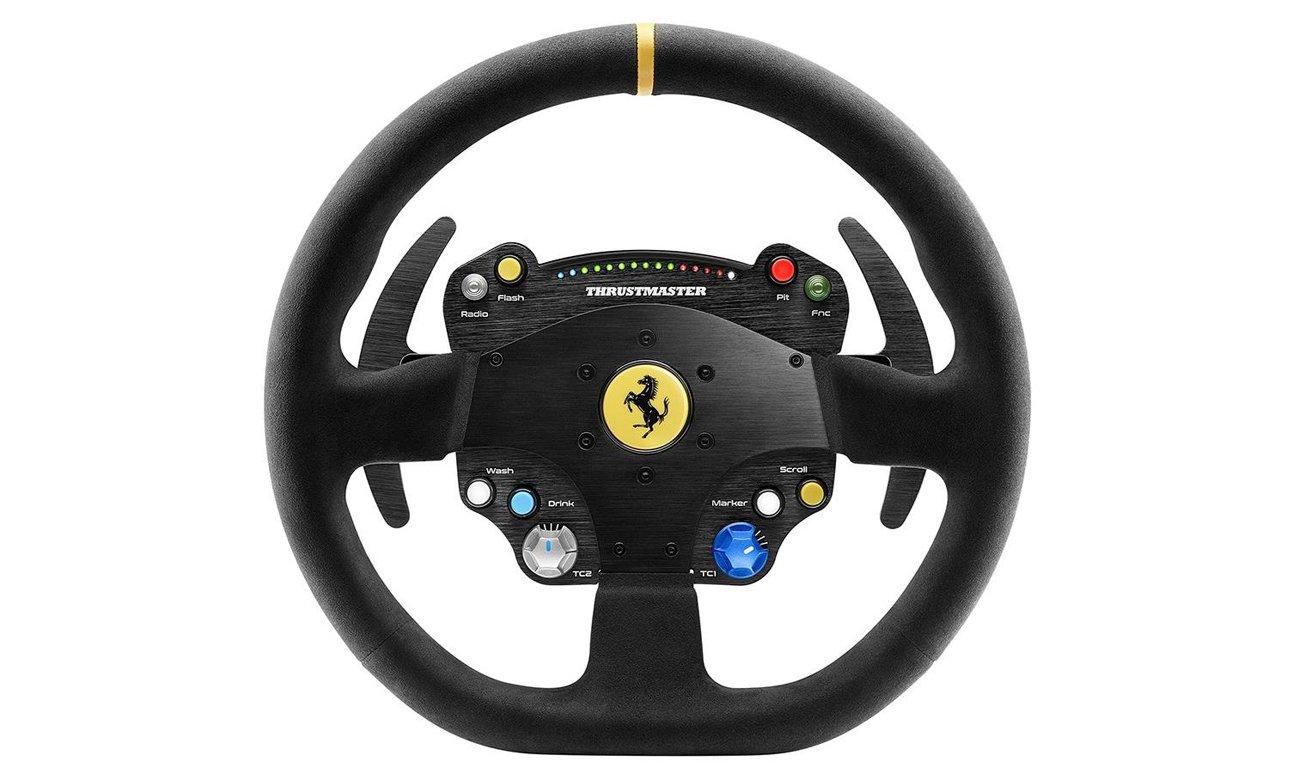 Thrustmaster TS-PC RACER Ferrari 488 Challenge Edition zasilanie trbo
