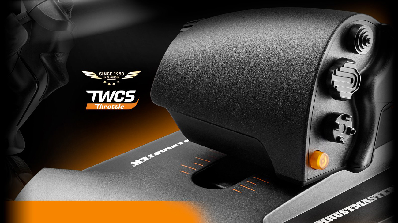 Thrustmaster TWCS Throttle PC S.M.A.R.T.