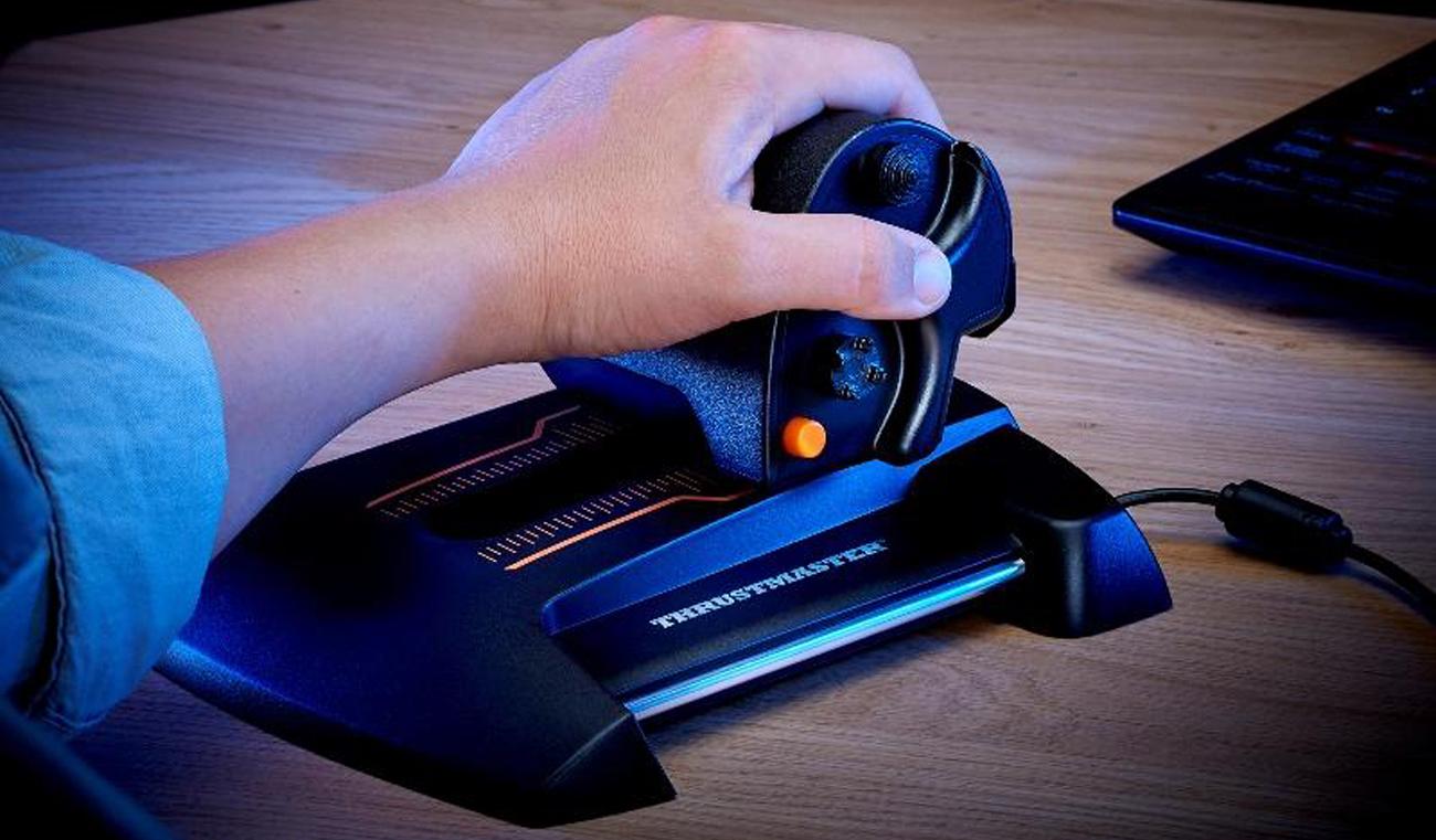 Thrustmaster TWCS Throttle PC środowisko gry T.A.R.G.E.T.