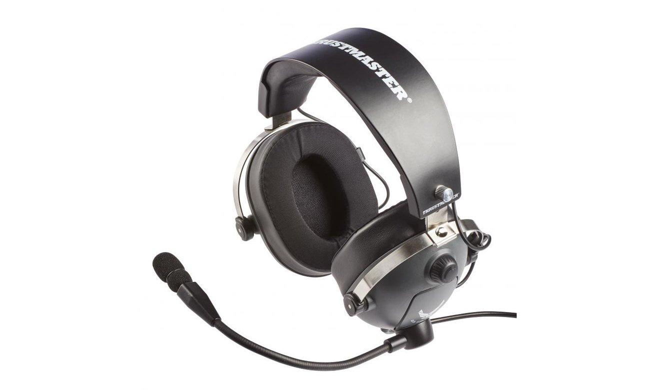 Słuchawki Thrustmaster T.Flight US Air Force edition mikrofon konstrukcja