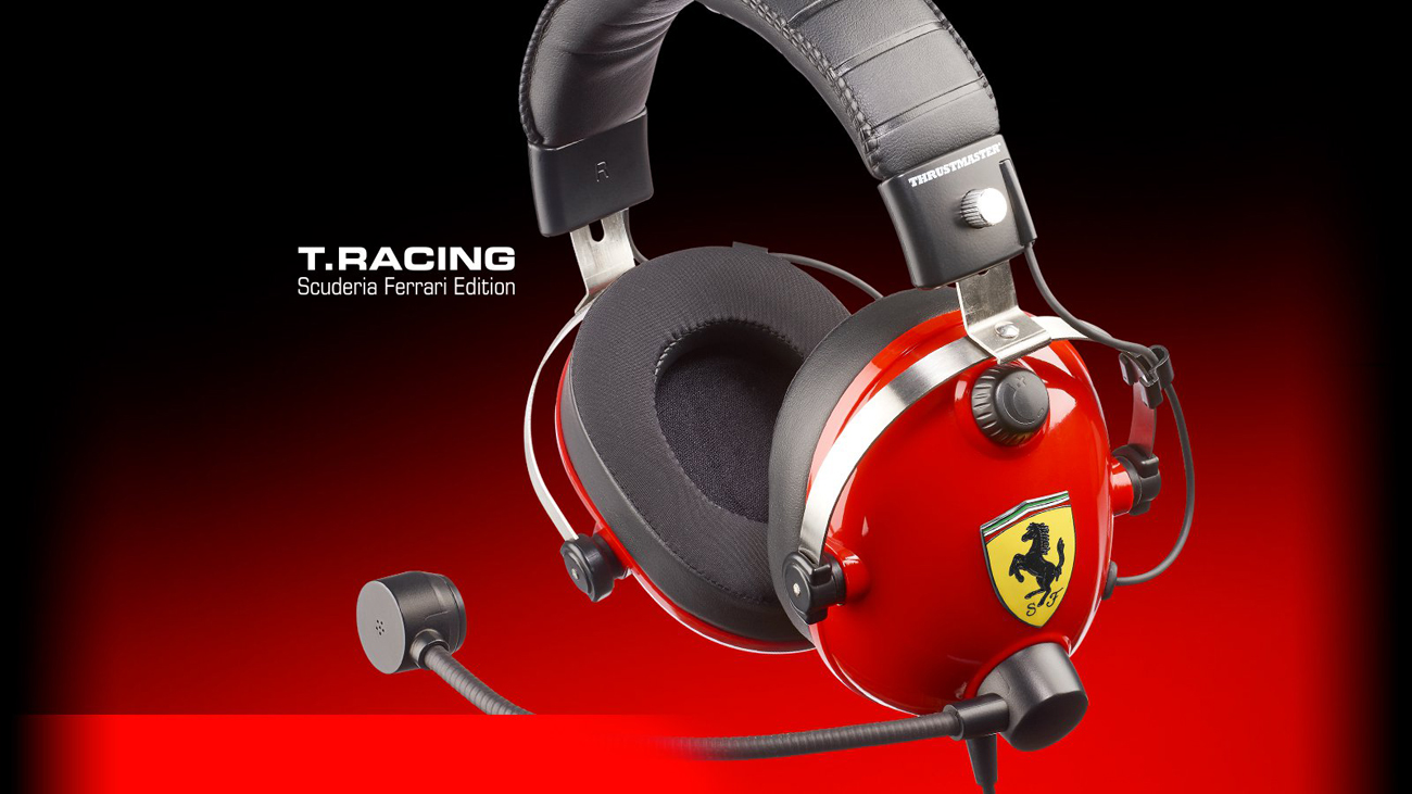 Słuchawki Thrustmaster T.Racing Scuderia FERRARI EDITION