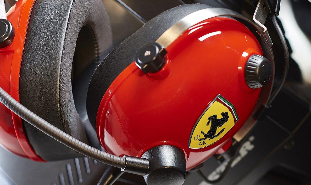 Słuchawki Thrustmaster T.Racing Scuderia FERRARI EDITION przetworniki 50 mm