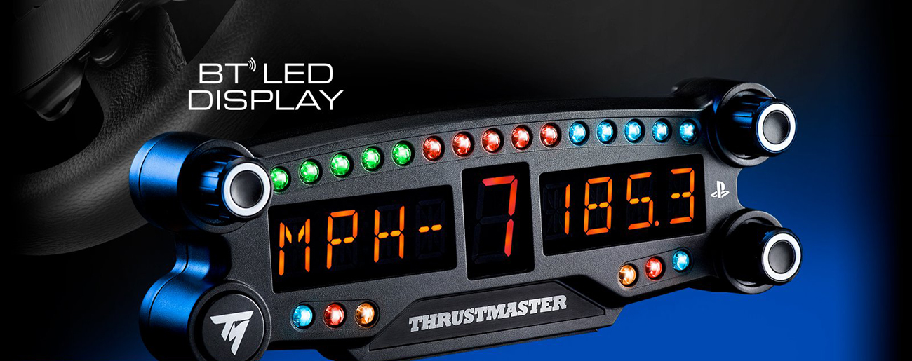 Thrustmaster BT LED Display 15 diod led 3 ekrany pokrętła