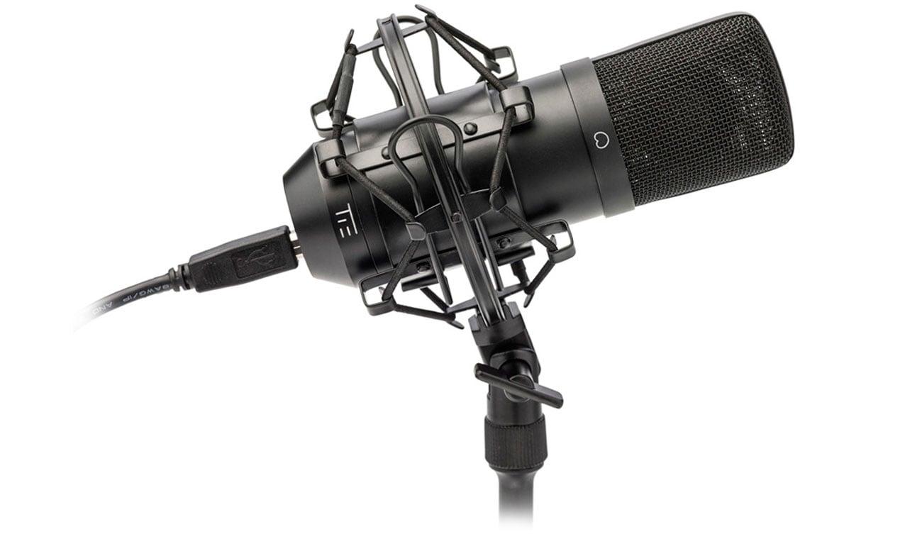 Mikrofon TIE Condenser Mic USB czarny