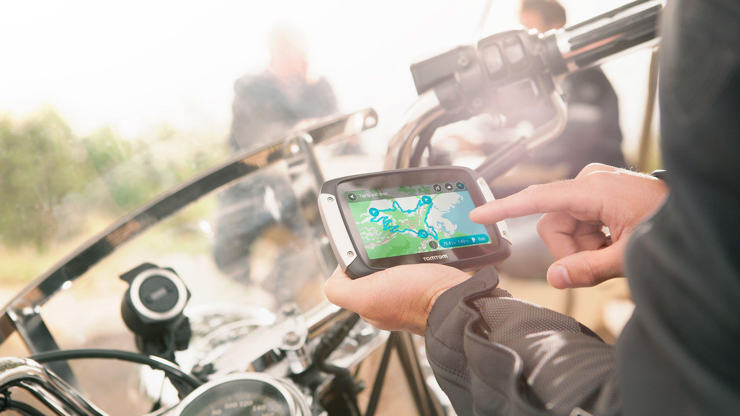 Nawigacja GPS TomTom Rider 400 - TomTom Traffic