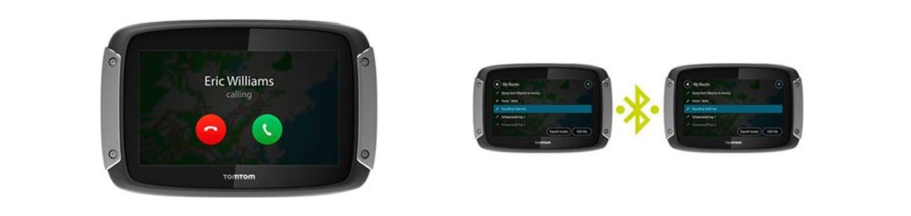 Nawigacja GPS TomTom Rider 400 - Bluetooth