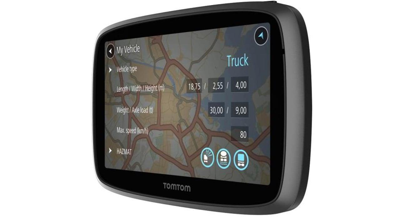 Nawigacja TomTom Trucker 6000 LTS