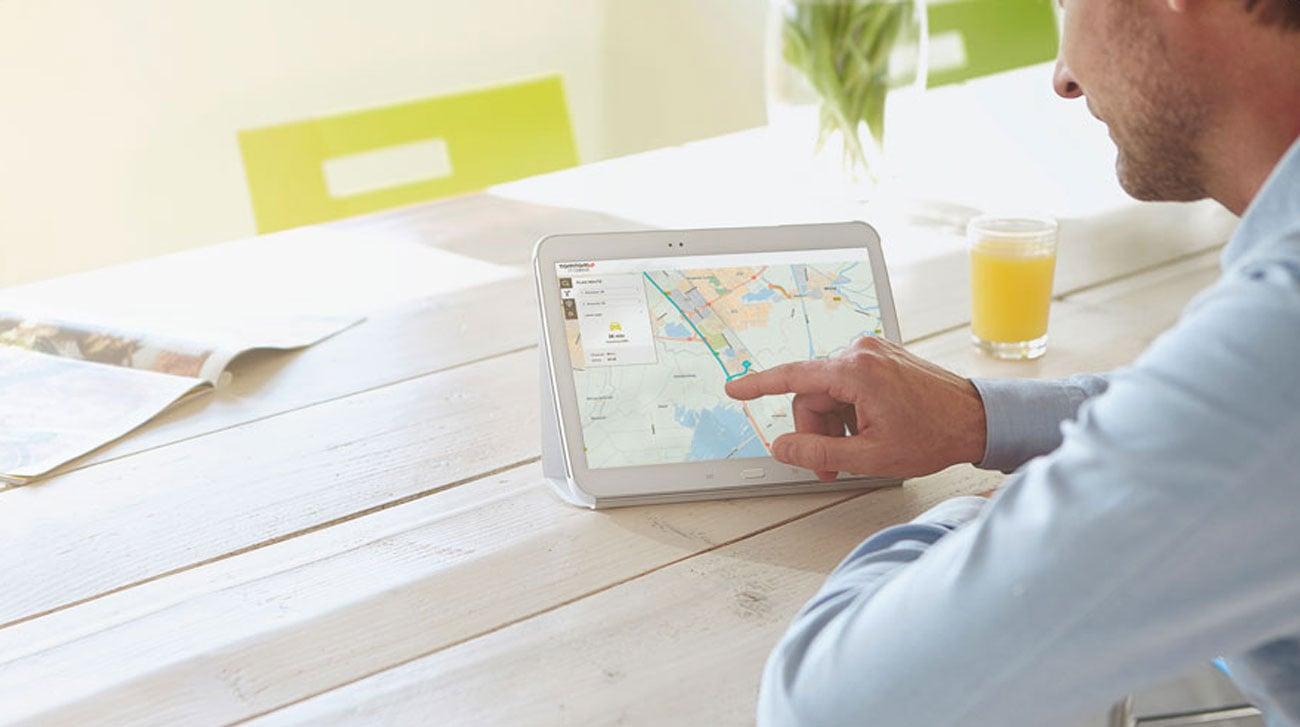 Planowanie podróży w aplikacji MyDrive