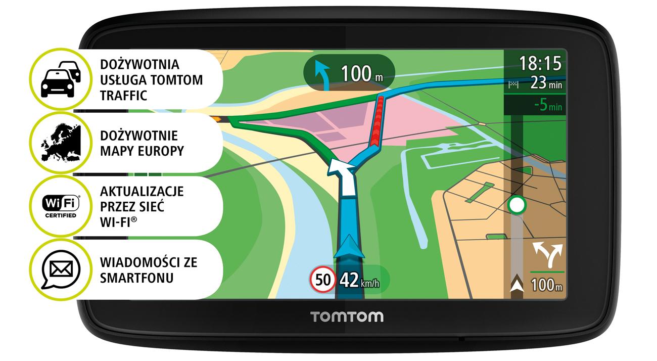 Nawigacja TomTom VIA 53