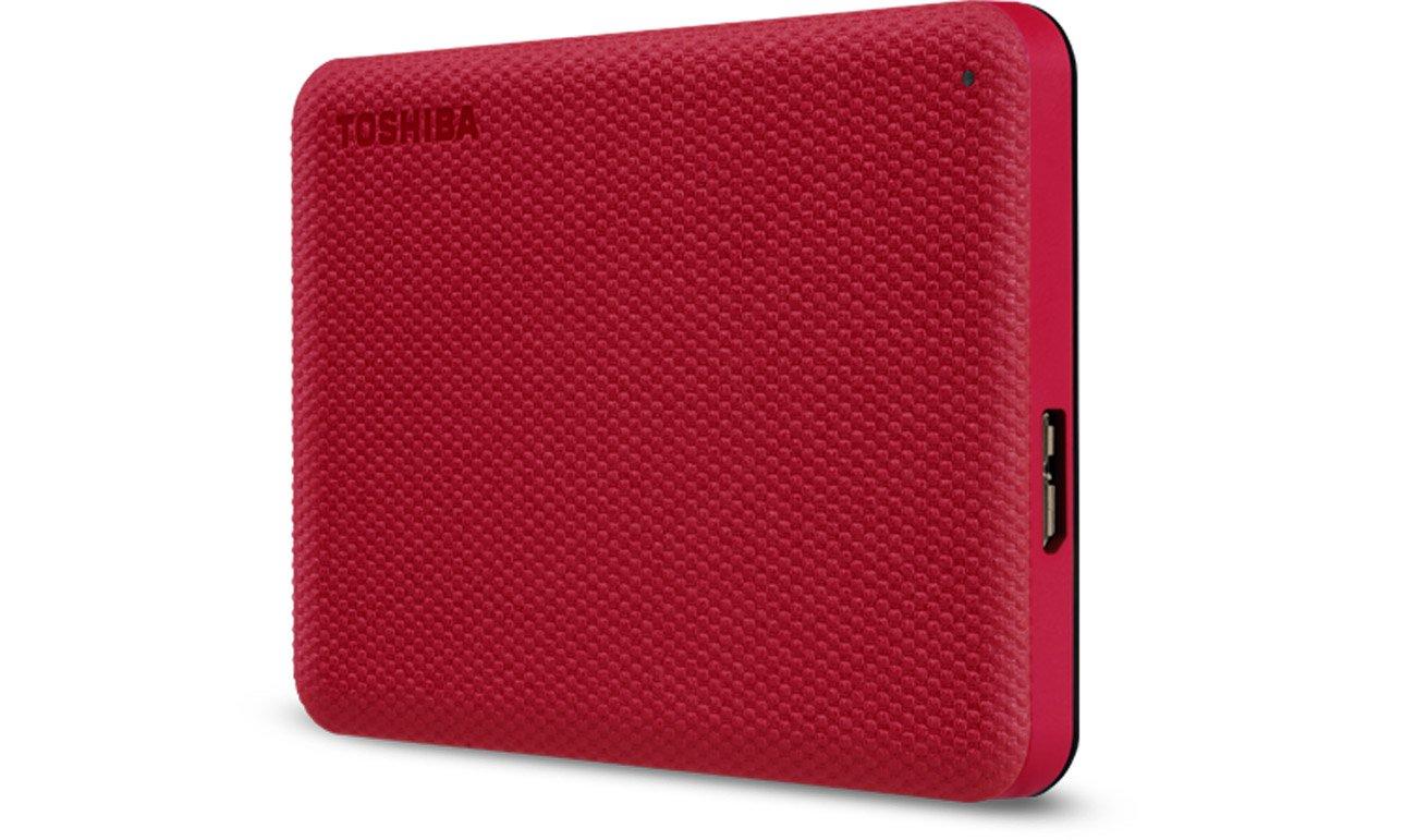 Dysk zewnętrzny Toshiba Canvio Advance 2TB USB 3.2 Czerwony