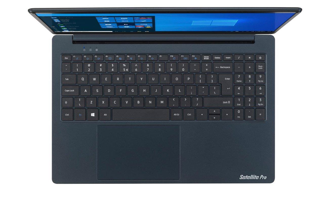 lewy bok laptopa