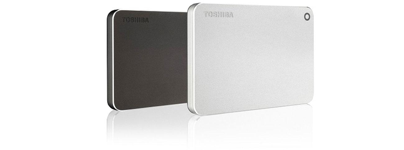 Toshiba 1TB CANVIO PREMIUM wyższa klasa gładka aluminiowa obudowa wysoka jakość