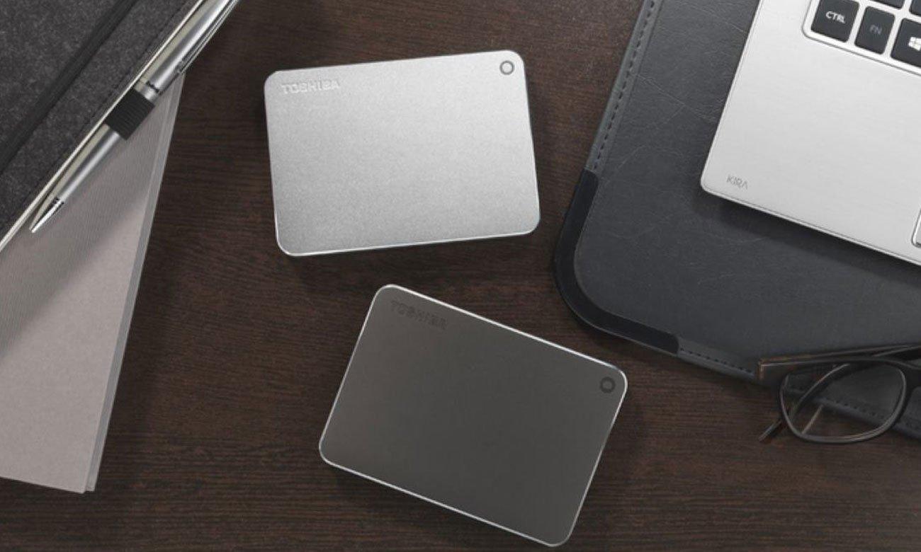 Toshiba 1TB CANVIO PREMIUM dysk biurowy sterownik systemu NTFS