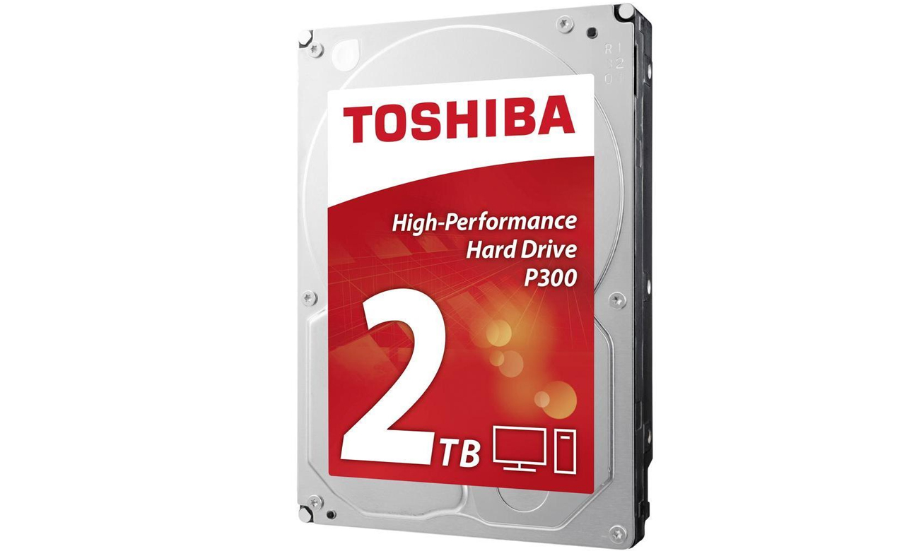 Dysk twardy SATA III Toshiba 2TB 7200obr. 64MB P300 - szybki i wydajny