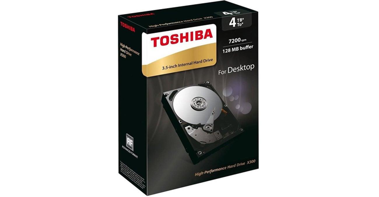 Dysk HDD Toshiba 4TB 7200obr. 128MB X300