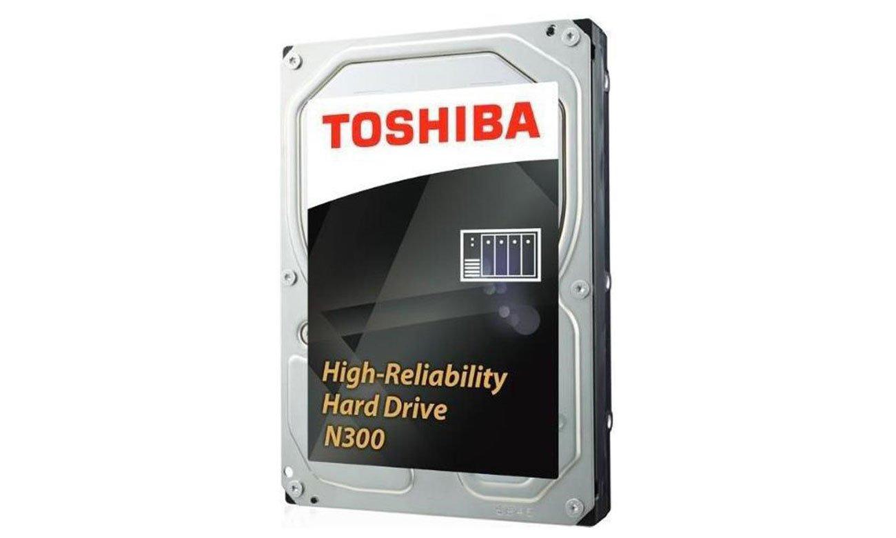 Toshiba 10TB 7200obr. 128MB N300 HDWQ140EZSTA