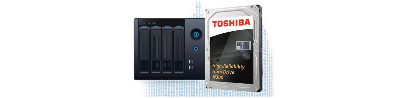 Toshiba N300 do środowisk wielodyskowych